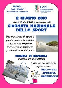 Festa dello Sport 2 Gigno 2013