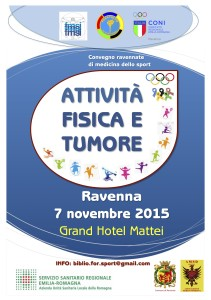 Locandina Convegno Med Sport Nov15