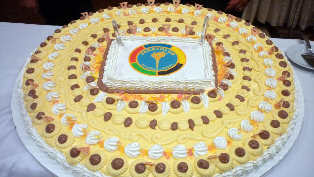 Il dessert con il Logo del Panathlon
