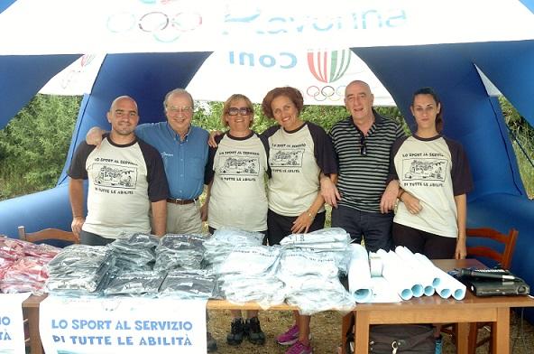 FIPSAS RAVENNA LAGO GHIARINE (RA) - LO SPORT AL SERVIZIO DI TUTTE LE ABILITA